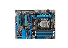 Free shipping 100% original motherboard for Asus P8P67 LE DDR3 1155 for i3 i5 i7 32GB P67  All solid Desktop motherborad