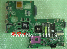 non-integrated laptop motherboard main board for N71VN main board