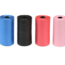 20 Rolls 400pcs pet dog Cats Pooper Bags Biodegradable Garbage Pet Dog Waste Cat Cleaning Up Refill Bag