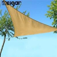 Waterproof Patio Sun Shade Sail Anti UV Combination Shade Net Awning Canopy Triangular 3x3x3M Home Garden Tent Shade Khaki