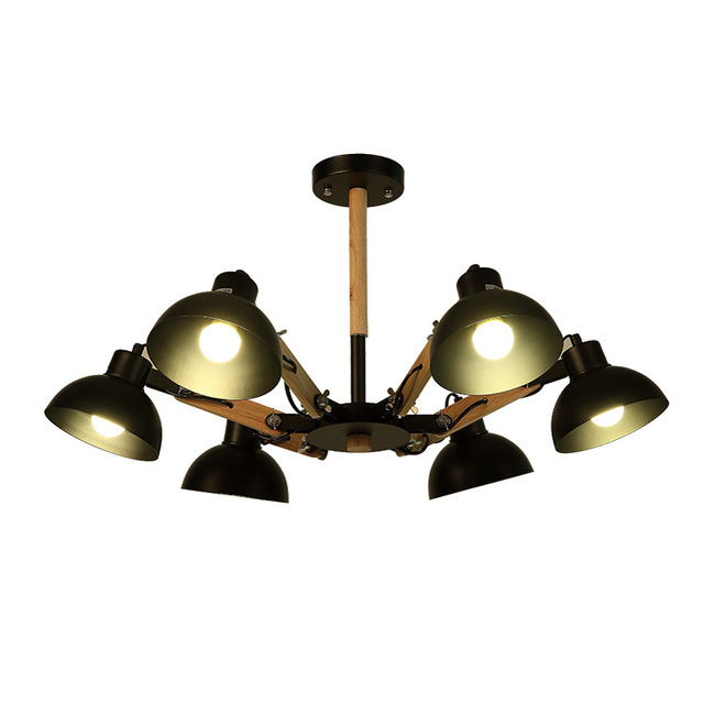 Modern Home E27 3/6 Adjustable Heads Living Room Spider Flexible Pendant Light Bedroom Metal  sc 1 st  AliExpress.com & Modern Home E27 3/6 Adjustable Heads Living Room Spider Flexible ...