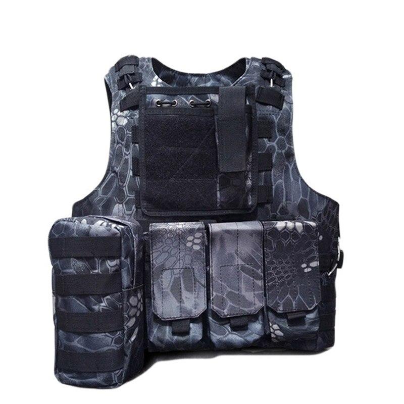 Military camo Airsoft tactical vest Current Militaria Ciras Mar Outdoor Camouflage Vest Army Training Combat Uniform