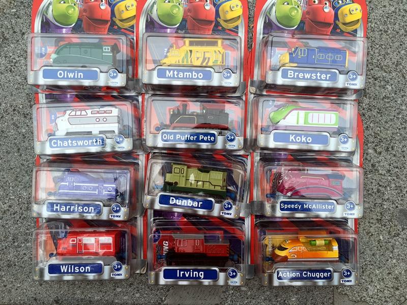 Takara Tomy Chuggington Trains Metal Diecast Toy Car Dunbar/Speedy/Skylar/Wilson/Koko/Harrison/Mtambo/Emery New