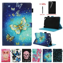 PU Leather Cover Case For Lenovo Tab 4 8 TB-8504F TB-8504N Funda Tablet Folio Magnetic Stand Cover For Lenovo Tab 4 8.0 8