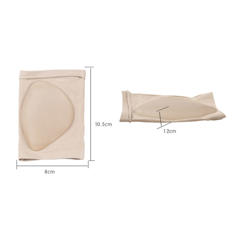 1Pair Comfortable Arch Support Sleeve Arch Socks Cushion Orthopedic Pad Foot Massager Posture Correction For Heels Shoe Insole H
