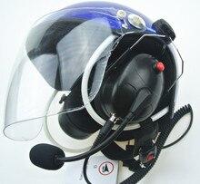 Cancelación de ruido Alimentado Parapente Paramotor cascos cascos casco con auricular completo al por mayor Mejor PPG