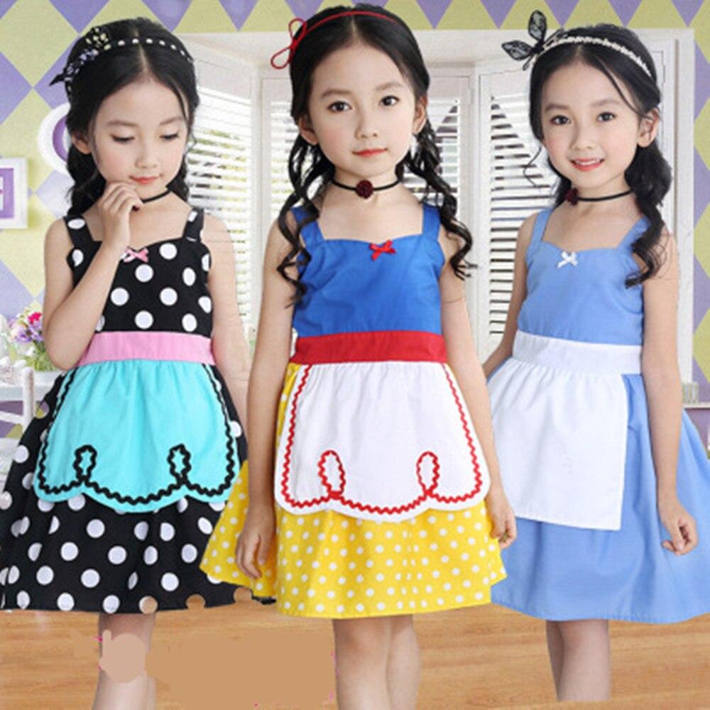 Snow White Dress For Girls Dresses Dot Halloween Princess Cosplay Costumes Alice In Wonderland Baby Girl Kids Childrens Clothing