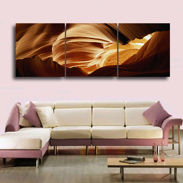 2016 Picture Heaven and earth began 3 Hot Sell Modern Wall Painting Landscape Home Decorative Art Picture Paint on Canvas Prints image