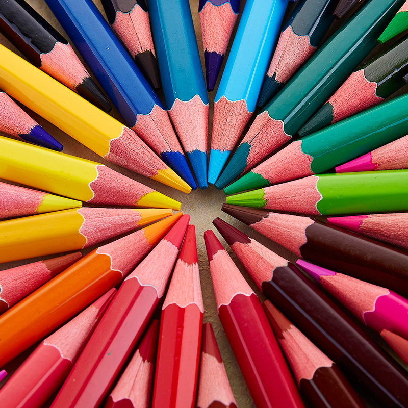 water-soluble color pencil 36 color 48 color painting pen Kids secret garden fill color pencil Drawing Art Supplies Stationery 12 18 36 48colors students prize creative gifts lead free avoid cut wood thick core color pen water soluble colored pincel art
