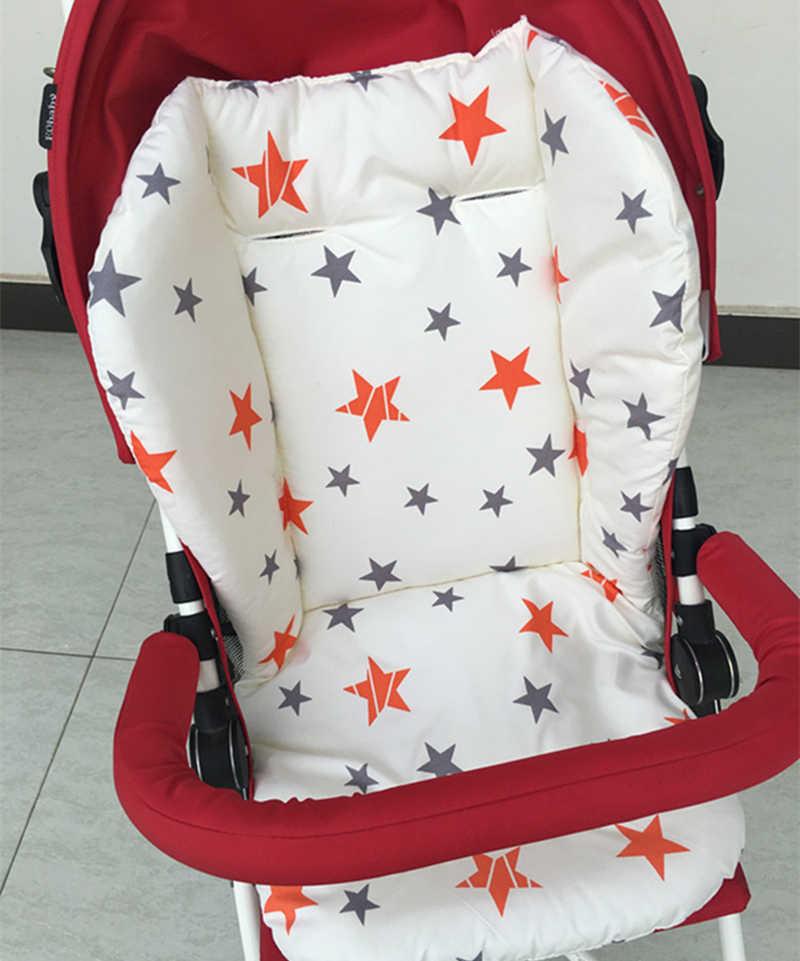Universal Baby Kinderwagen Sitz Abdeckung Baumwolle Matte Kinder Kinderwagen Warenkorb Hohe Stuhl Sitzkissen Baby Kinderwagen Kissen Pram Liner Pads