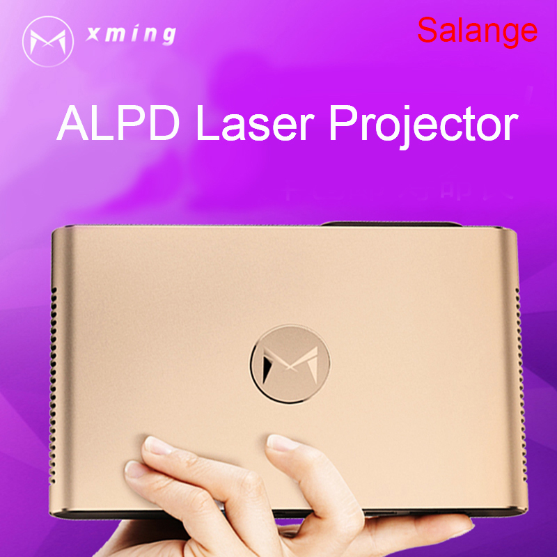 XMING S2 Laser Projector Android WIFI Bluetooth 3D 3600 Lumens Motorized Laser Lens 2G 16G 300