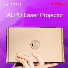 Projektor Laserowy XMING S2 Android WIFI Bluetooth 3D 3600 Lumenów Z Napędem Soczewki Lasera 2G 16G 300 cal domu Beamer