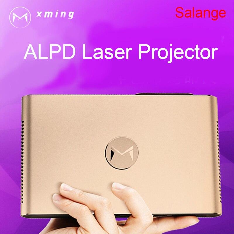 Xming S2 лазерный проектор Android WI-FI Bluetooth 3D 3600 люмен Моторизованный объектив лазера 2 г 16 г 300 дюймов дома проектор