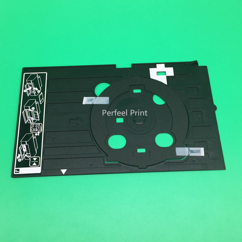 1PCS Original Inkjet CD DVD <font><b>Printer</b></font> Tray For <font><b>Epson</b></font> T50 P50 T60 <font><b>L800</b></font> L801 L810 R290 R330 R380 R390 RX680 image