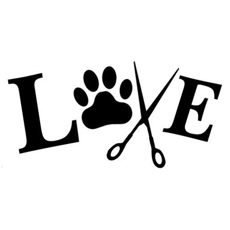 ᗗ15.5 cm * 7.5 cm amor a novio 7 etiqueta animales Perros PET ...