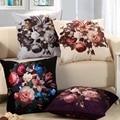 60x60cm Classical flower pillowcase high-grade cushion elegant pillow case RG039