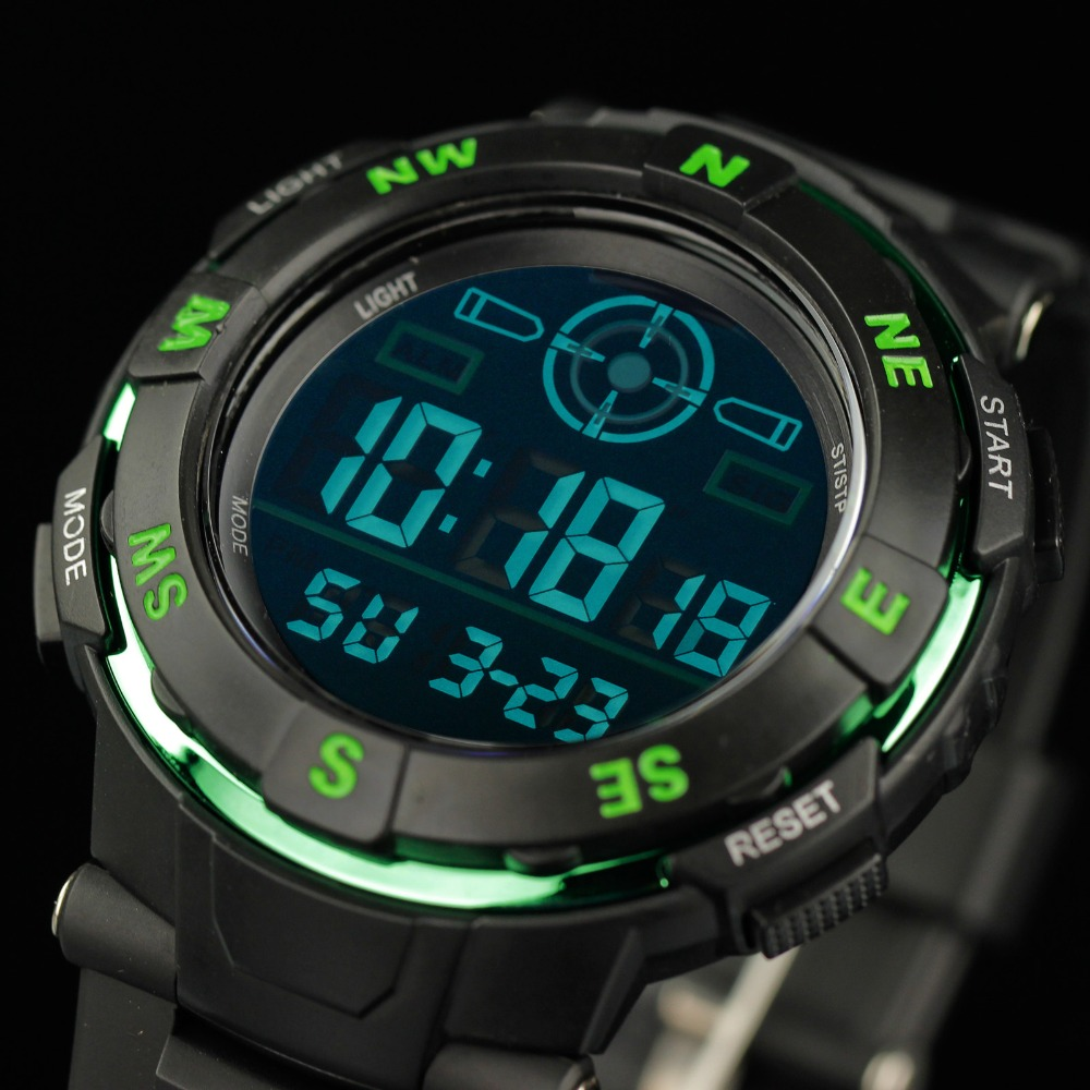 aliexpress com buy infantry mens watches reloj led digital aliexpress com buy infantry mens watches reloj led digital military green sports watches dual time fashion casual watches for mens boy rubber strap from