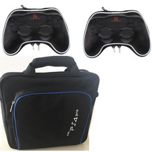 PS4 Pro Console Game System Bag Travel Storage Carry Case For Playstation Shockproof Controller Pocket Pouch