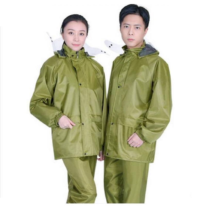 Raincoats Women Men Jacket Pants Set Waterproof Men Raincoat Women Motorcycle Rainwear Adults Hiking Gabardina Mujer Rain Coat Pant Z796 Relieving Rheumatism And Cold Home & Garden