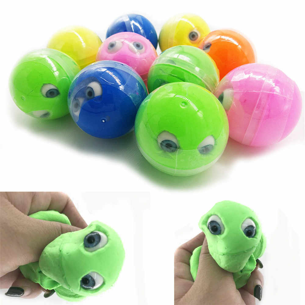 Halloween Eyeball Colours Mixing Cloud Slime Putty Scented Stress Kids Clay Toy