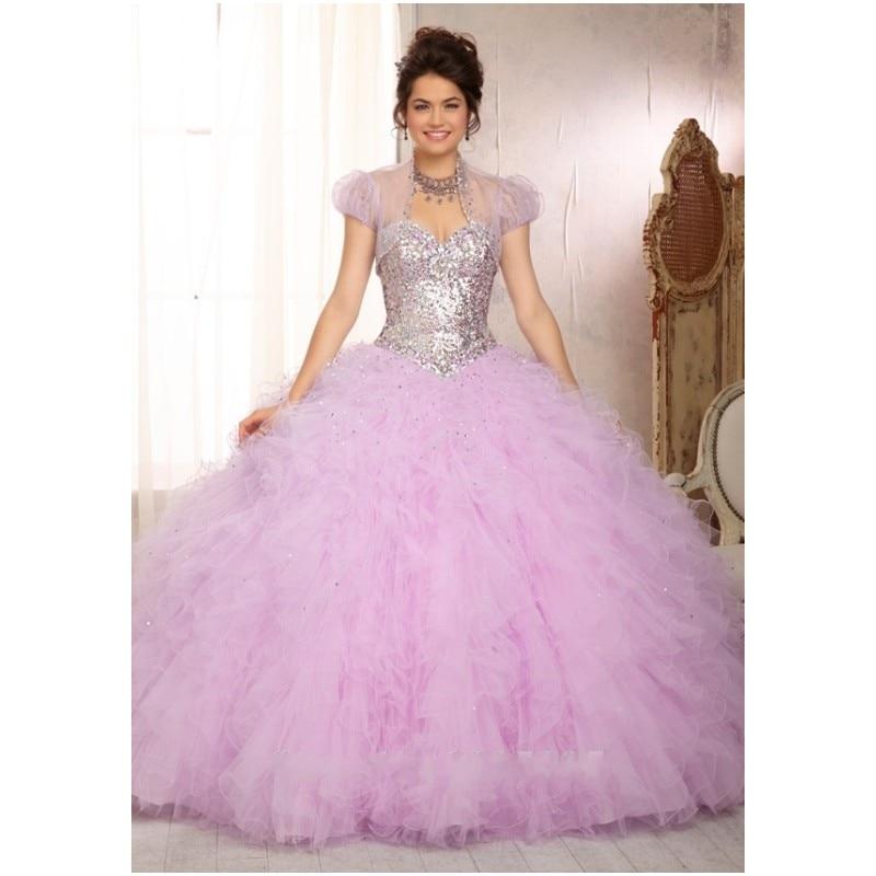 Popular Purple Quinceanera Dresses with Straps-Buy Cheap Purple ...