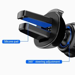 Image 5 - Mise à niveau modèle support de téléphone de voiture support de gravité Gadget de voiture antidérapant évent de voiture Amout téléphones accessoires de voiture Automobile