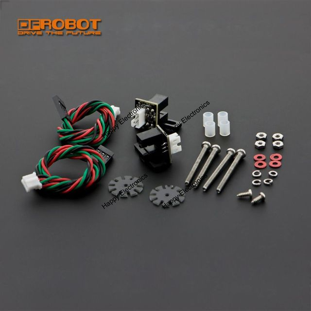 new DFRobot Gravity TT Motor Encoders Kit for rotation degree of