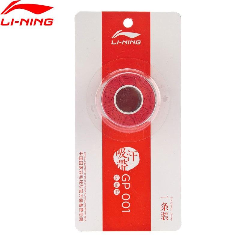 Li-Ning Badminton GP001 Overgrip Professional Slip-resistance 1pc LiNing Li Ning Accessory Sports Equipment AXJP002 ZYF336