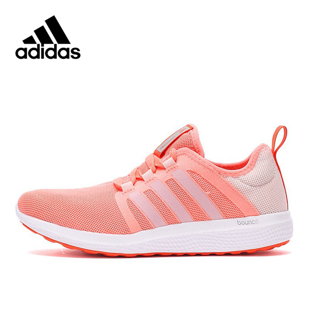 af24aca0a52a8 Original New Arrival Official Adidas Bounce Climacool Women s Breathable  Low Top Running Shoes Sneakers