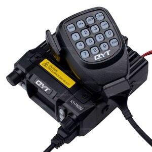Image 2 - QYT KT 7900D quad band araba radyo verici 136 174MHz & 220 270MHz /350 390MHZ 400 480mhz RX TX 25w güçlü mobil radyo