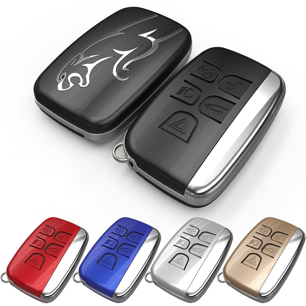 Unique Design Brand New 5 Buttons Smart Remote Car Key Hard Case Cover Shell For Jaguar Key Case Cover