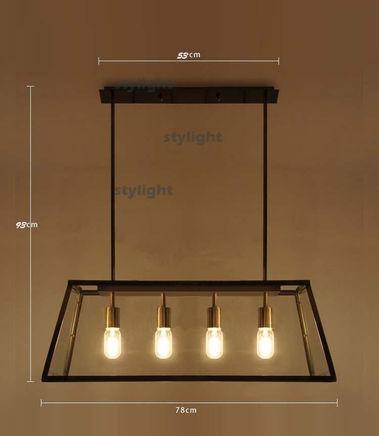 Lighting Vintage Pendant Lamp Filament