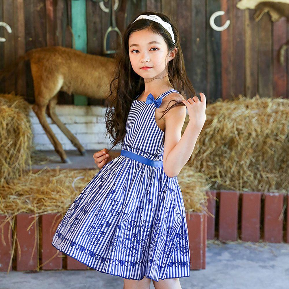 teenagers dress big girls summer dresses 2018 kids dresses little girl striped dress size for 34 5 6 7 8 9 10 11 12 13 14 years elegant little girls dresses summer 2018 big girl dress teenage clothing kids dresses size for 3 4 5 6 7 8 9 10 11 12 years
