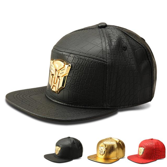 O novo Grão Crocodilo marca Maré boné de beisebol flat-Transformadores de abas largas chapéu afluxo de pessoas chapéu hip-hop