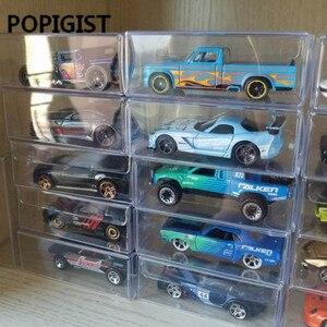 Image 3 - Ag caixa de brinquedo tomy tomy pvc, modelo de carro 1/64 tomica, rodas quentes, proteção à prova de poeira, caixa de exibição, 100 peças
