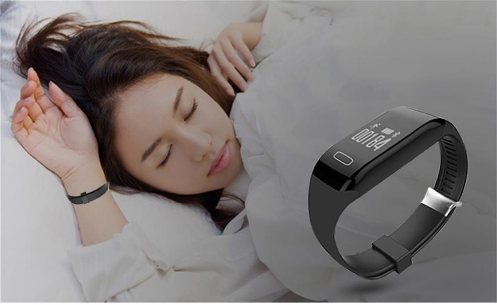MOCRUX Smart Wristband Bracelet H3 Smartband IP68 Waterproof Heart Rate Monitor FitnessActivity Tracker Smart Watch Call Alarm  (6)