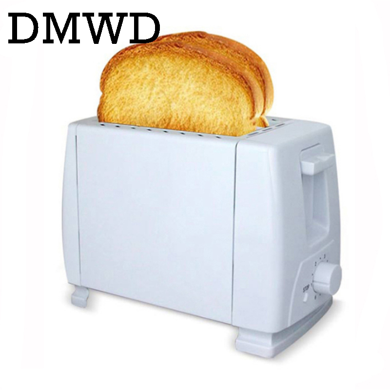 DMWD Mini household Toaster electric Baking Bread Machine full automatics Breakfast Machine maker Toast oven 2 Slices 750W