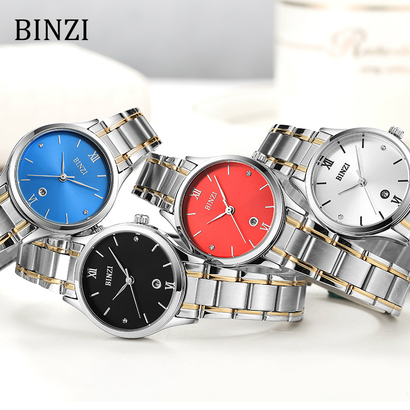 3c4b450d2db Mulheres Relógios binzi relógio para mulheres relógio Estilo   Fashion  Causal Simple Women Watch