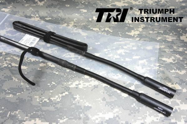 TRI VHF UHF Double pieds plats gain Antenne Pliante Pour PRC-152/PRC-148