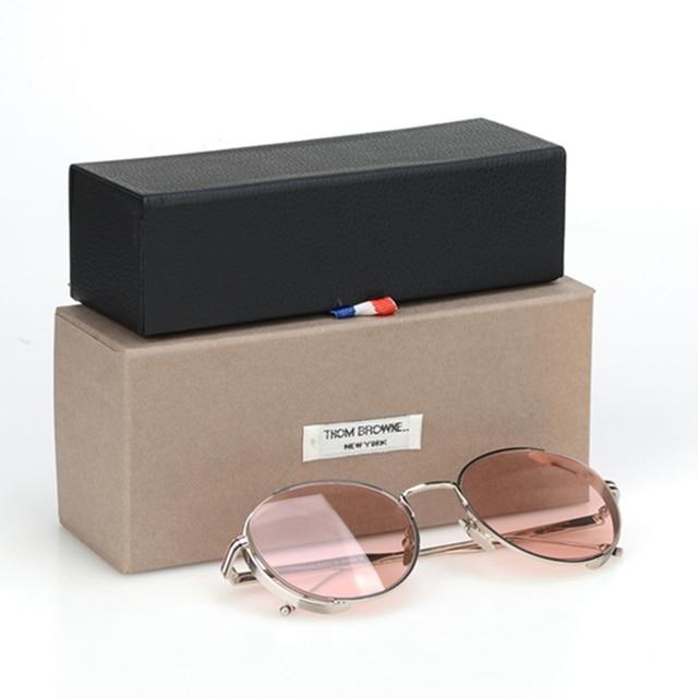 7847970b66035 Grandes marcas TB-106 circulares mulheres retro óculos de sol da moda de  alta qualidade