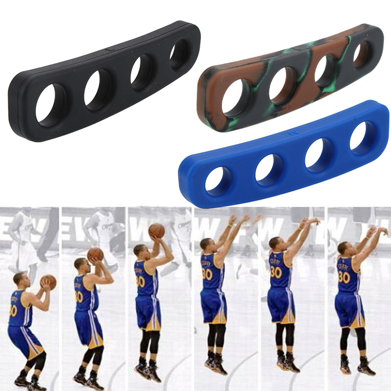 3 Colors Silicone Shot Lock Basketball Ball Shooting Trainer Training Accessories Three-Point Size for Kids Adult Man Teens leather