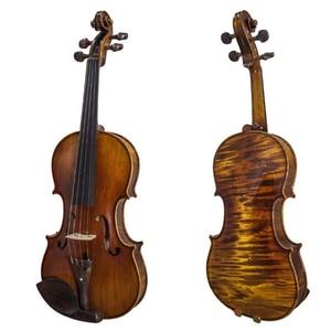 High-end Hand carved violin 4/