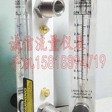 LZM-15T Регулируемая панель тип расходомера 0,3~ 3GPM 1~ 11LPM соединение из нержавеющей стали