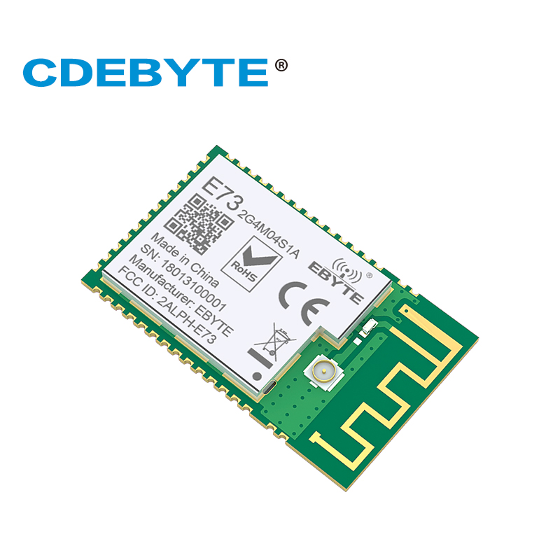 E73 2G4M04S1A Bluetooth nRF52810 Module 2 4Ghz 2 5mW IPEX PCB Antenna IoT uhf Wireless Transceiver SMD rf Transmitter Receiver in Telecom Parts from Cellphones Telecommunications
