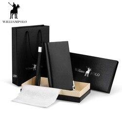 WILLIAMPOLO длинные пояса из натуральной кожи для мужчин кошелек Мода Дизайн блестками телефон кредитной держатель для карт Корова кожа