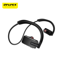 Awei A883BL Wireless Earhone Bluetooth Earphone IPX4 Waterproof Sports Outdoors Headphone with Microphone Noise Cancelling awei a832bl wireless headphone bluetooth v4 0 earphone