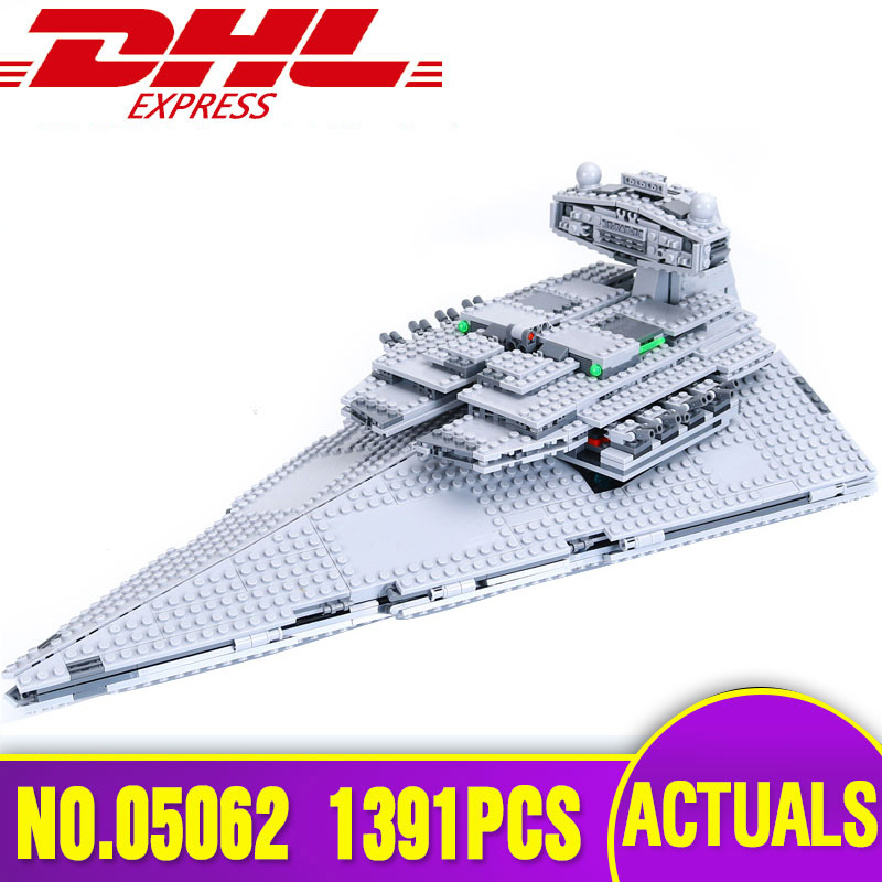 New Lepin 05062 Star 1391pcs Genuine War Series The Star Destroyer Set 75055 Building Blocks Bricks Educational Toys motorcycle accessories aluminum alloy air shock absorber rear suspension shock absorber for kawasaki z125