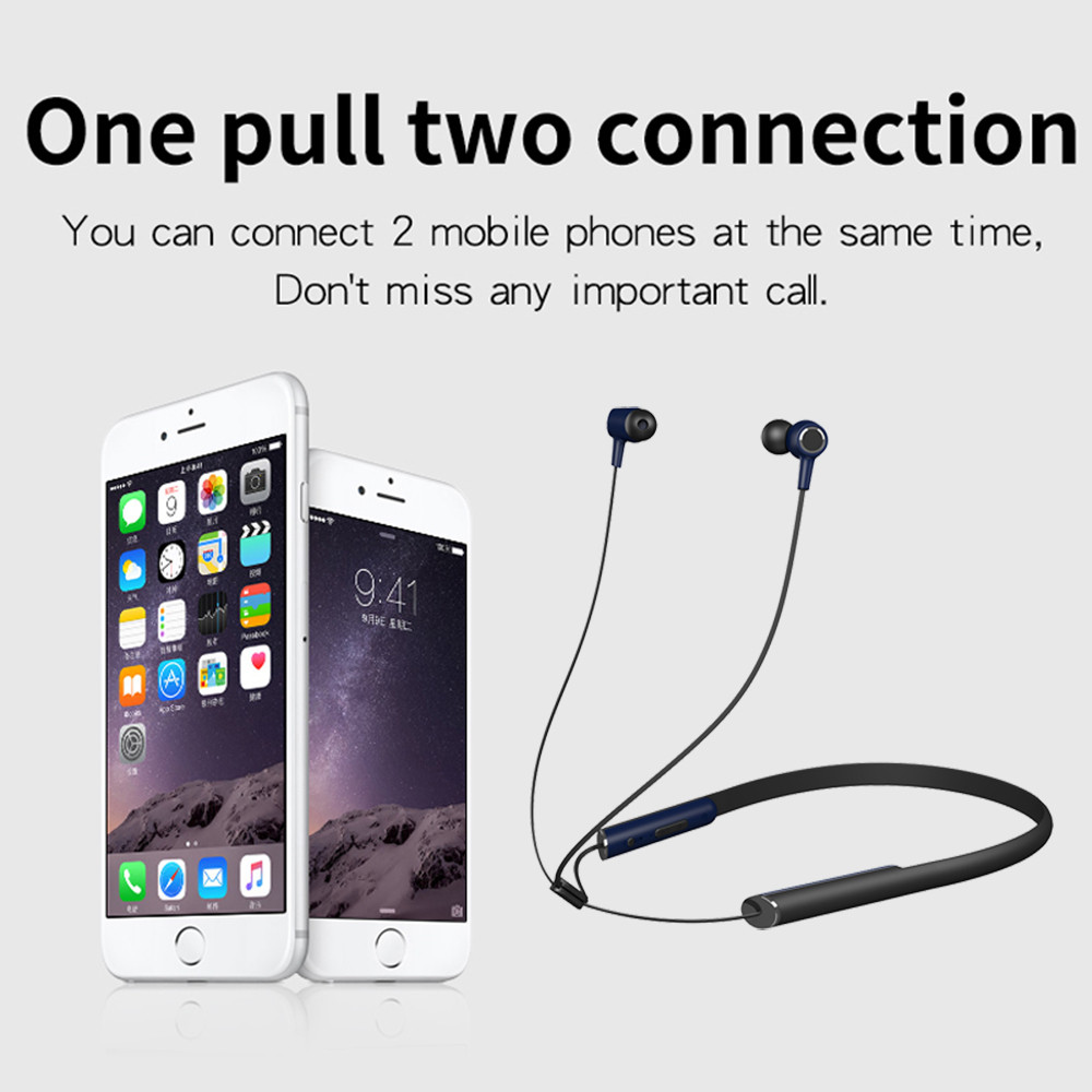 Askmeer Bluetooth Earphone Wireless Magnetic In Ear Sports Headset with Microphone Handsfree Calls for iPhone xiaomi Samsung Phone (9)