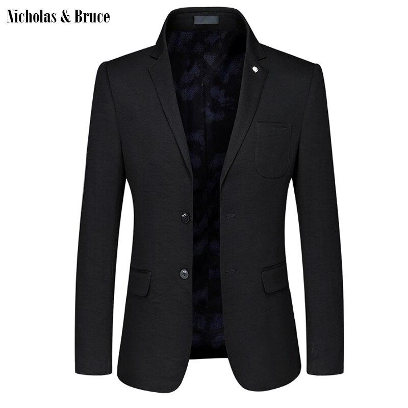 N & B пиджак 2019 для мужчин формальные черный блейзер s платье пальто мужчин's куртки для свадеб Slim Fit костюм пальто платье-пиджак SR17