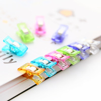 50Pcs High Quality Multicolor Plastic Clips For Patchwork Sewing DIY Crafts Quilt Quilting Clip Clover Wonder
